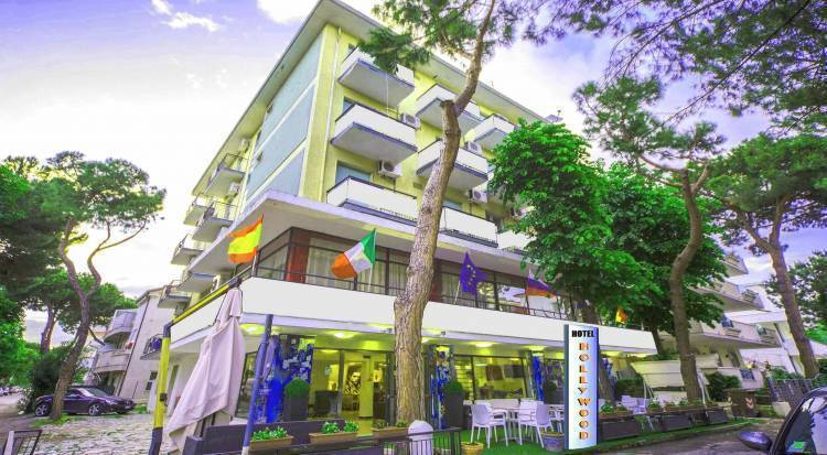 Hotel Hollywood, Riccione, Italy, secure online reservations in Riccione