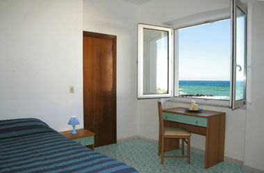 Rotonda Sul Mare, Forio, Italy, youth hostels with ocean view rooms in Forio