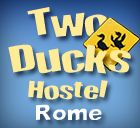 Two Ducks Hostel, Rome, Italy, Italy hotels and hostels