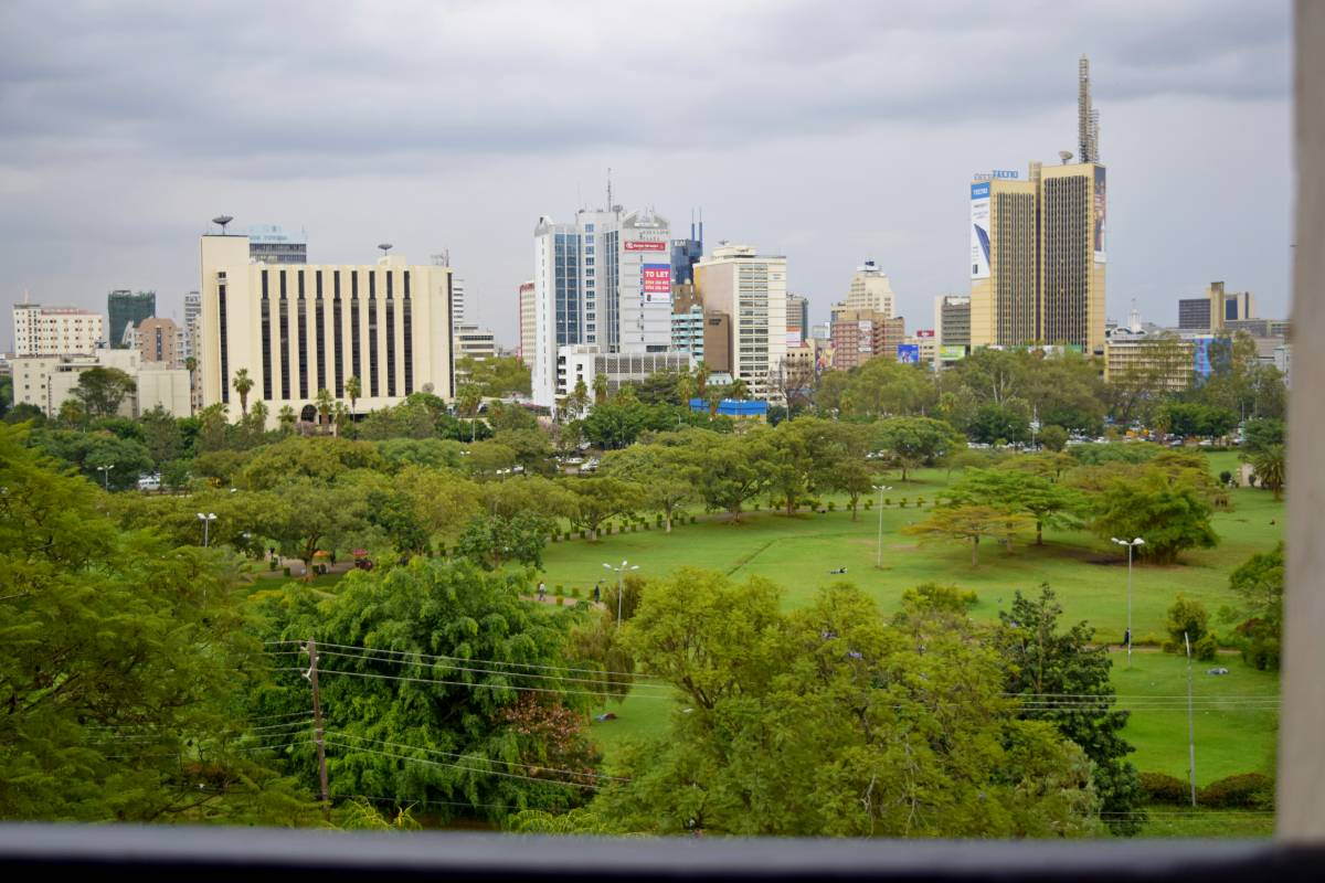 YWCA Parkview Suites, Nairobi, Kenya, stay in a hotel and meet the real world, not a tourist brochure in Nairobi