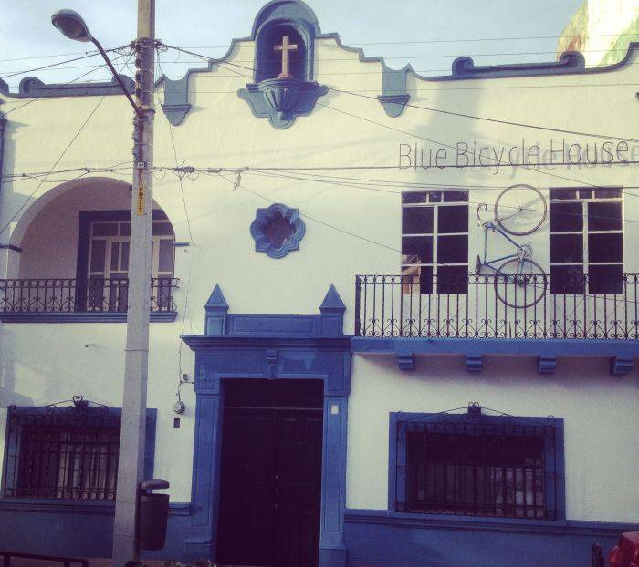 Blue Bicycle House, Queretaro, Mexico, local tips and recommendations for hotels, motels, hostels and B&Bs in Queretaro