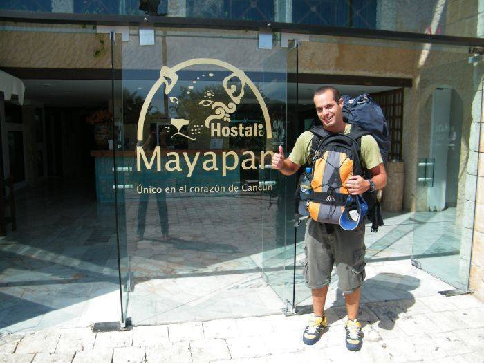 Hostal Mayapan, Cancun, Mexico, Località di viaggio con ostelli e zaino in spalla in Cancun