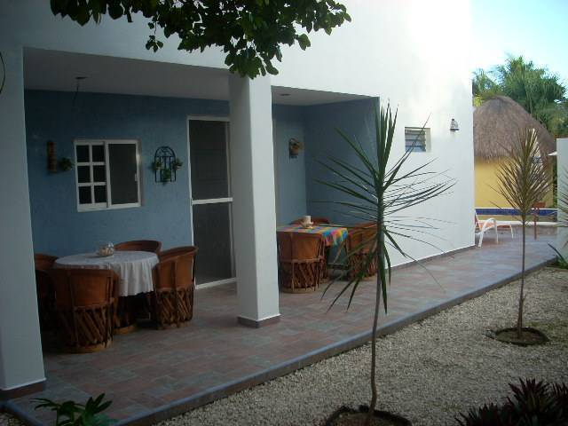 Villa Escondida Bed and Breakfast, Cozumel, Mexico, hotels for ski trips or beach vacations in Cozumel