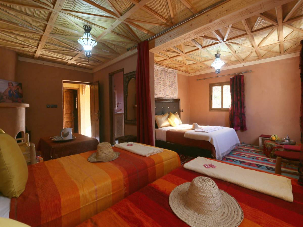 Atlas Chateau, Imlil, Morocco, backpackers and backpacking hotels in Imlil
