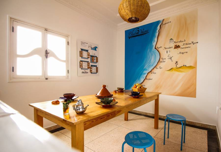 Blue Waves Surf House Anza, Anza, Morocco, Morocco hotels and hostels