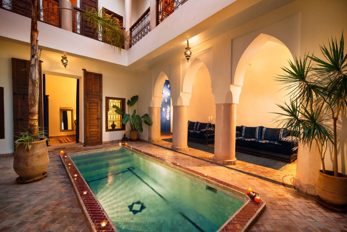 Darhani Riad, Marrakech, Morocco, best trips and travel vacations in Marrakech