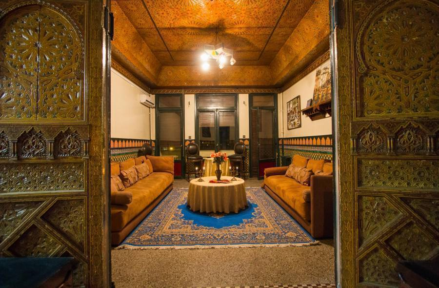 Grand Hotel, Fes, Morocco, Morocco hotels and hostels