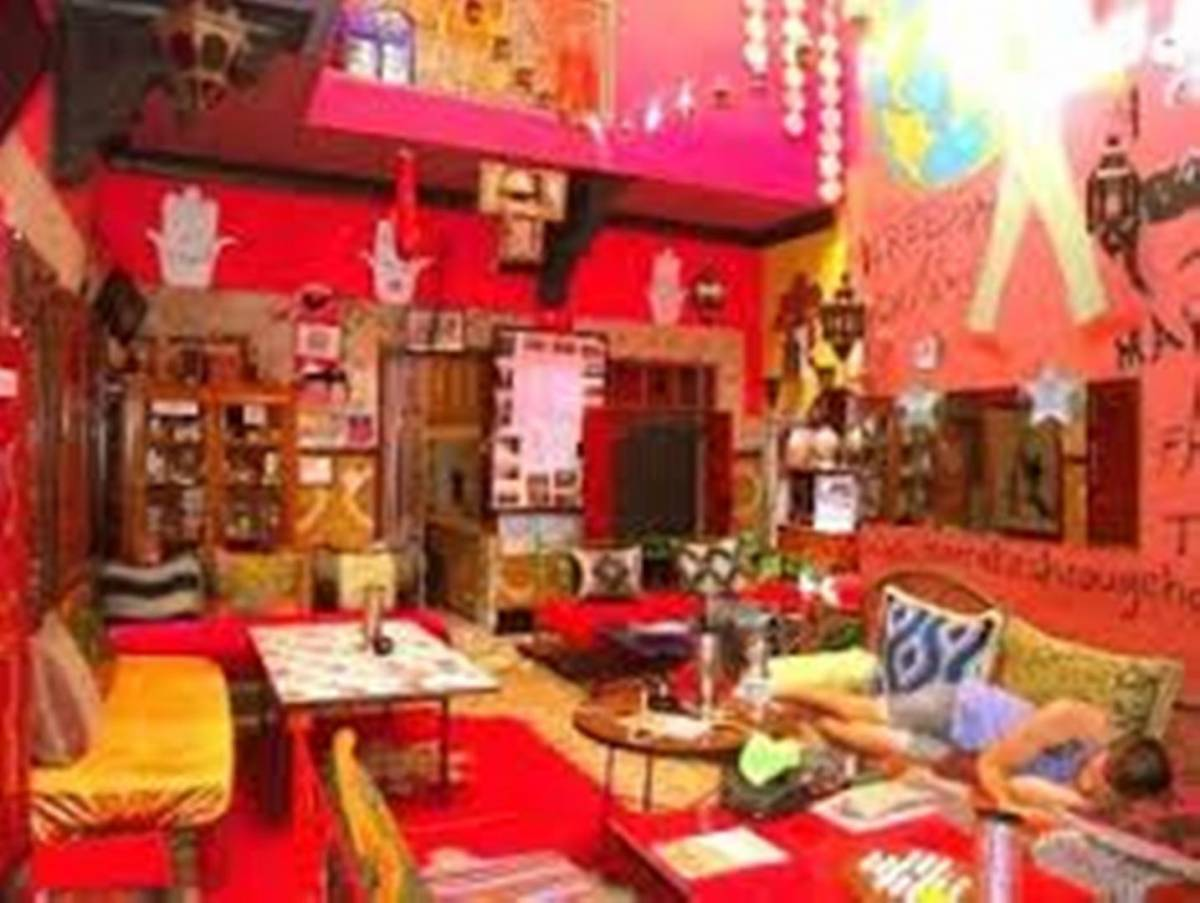 Hostel Riad Marrakech Rouge, Aarich, Morocco, Morocco hotels and hostels