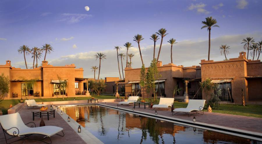 Jnane Allia, Marrakech, Morocco, hotels for world cup, superbowl, and sports tournaments in Marrakech