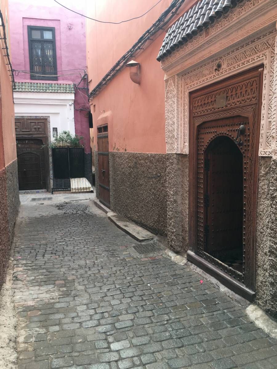 Riad Blue Berber, Marrakech, Morocco, how to choose a vacation spot in Marrakech