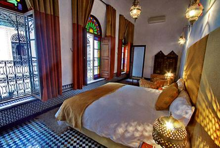 Riad Fez Yamanda, Fes al Bali, Morocco, hotels and rooms with views in Fes al Bali