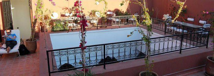 Riad Hannah, Marrakech, Morocco, passport to savings on travel and hostel bookings in Marrakech