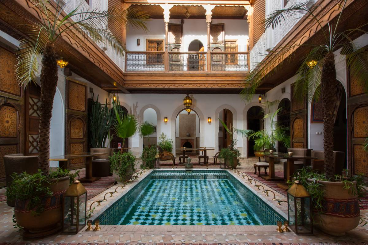 Riad Melhoun and Spa, Marrakech, Morocco, Morocco hotels and hostels