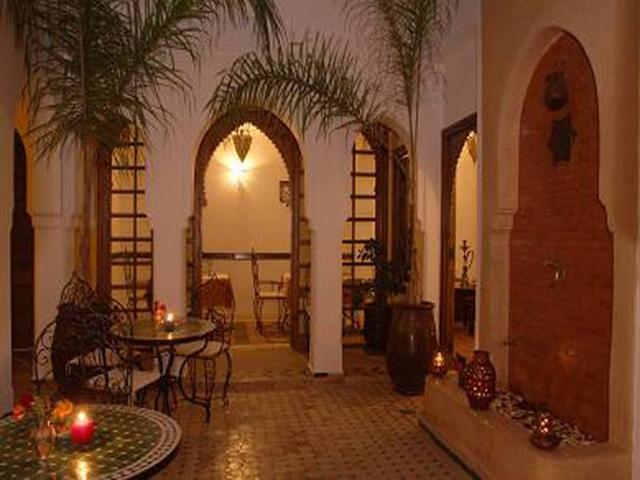 Riad Nerja, Marrakech, Morocco, check hotel listings for information about bars, restaurants, cuisine, and entertainment in Marrakech