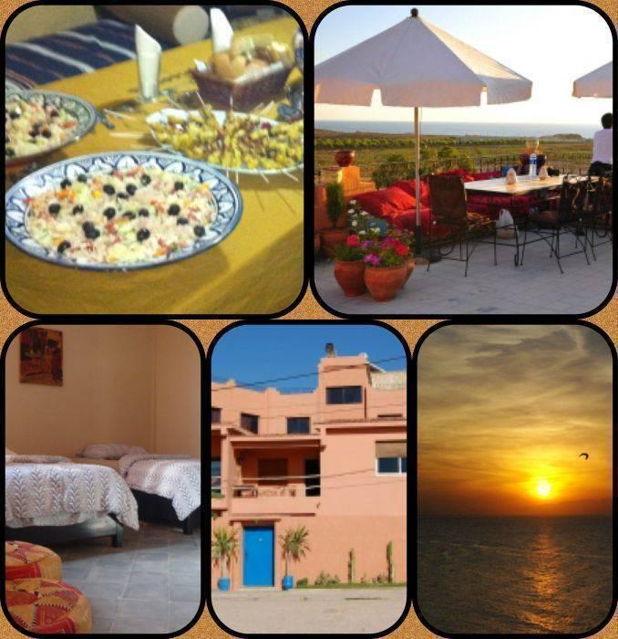 Villa Azur Auberge, Agadir, Morocco, nizke obravnava stroškov v Agadir