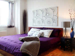 Penthouse NY Kaleidoscope, Upper Manhattan, New York, backpackers hostels hiking and camping in Upper Manhattan