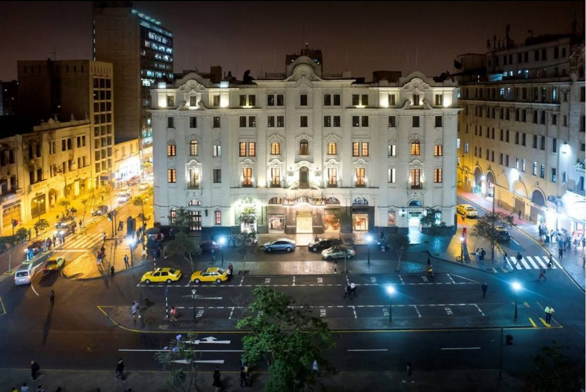 Gran Hotel Bolivar, Lima, Peru, Peru hotels en hostels