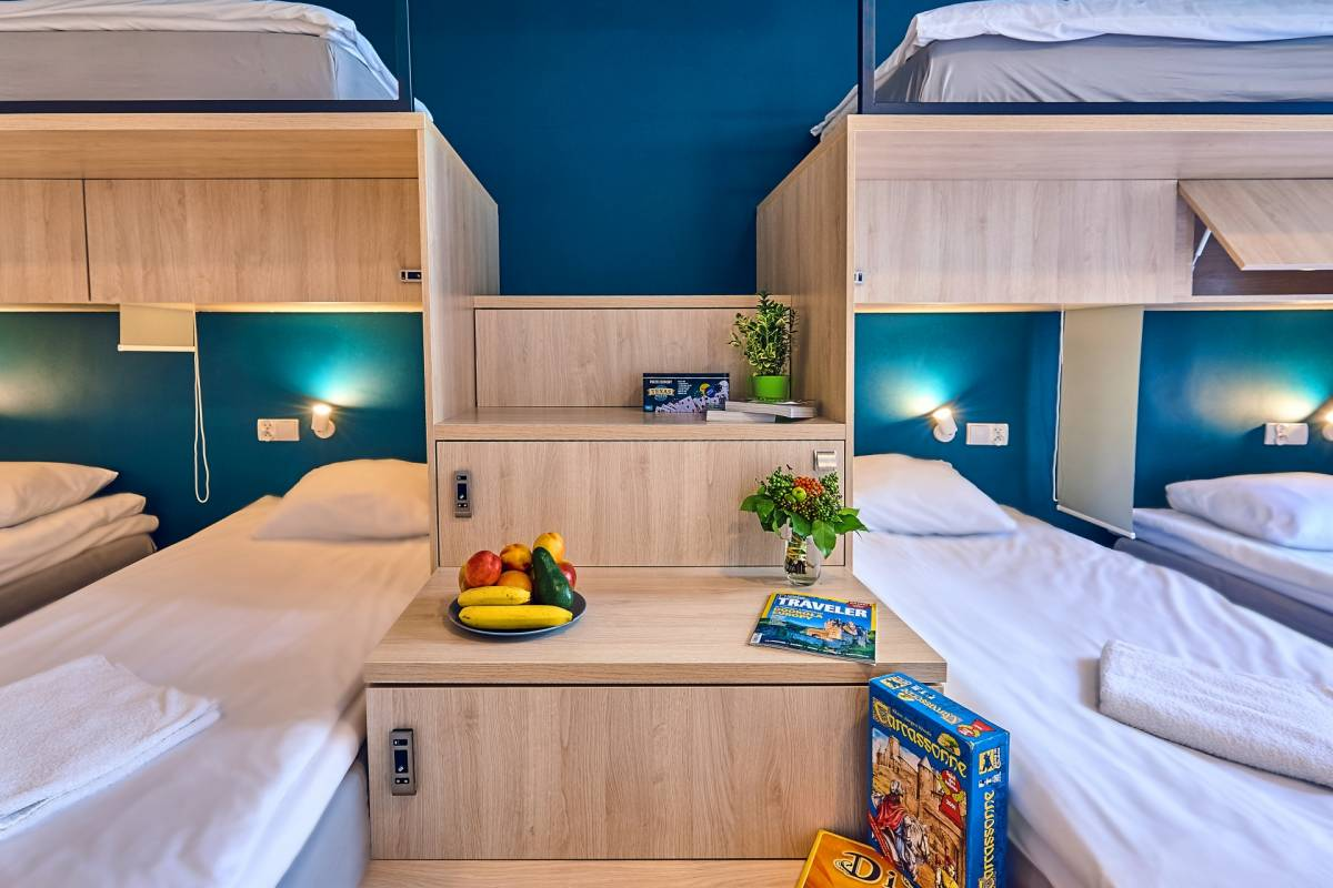 Draggo House, Krakow, Poland, hotels and hostels for sharing a room in Krakow