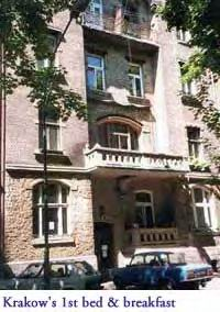 Krakow 1st Bed and Breakfast, Krakow, Poland, Poland hostels and hotels