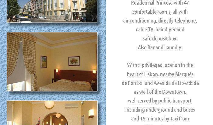 Residencial Princesa - Search available rooms for hotel and hostel reservations in Lisbon 1 photo