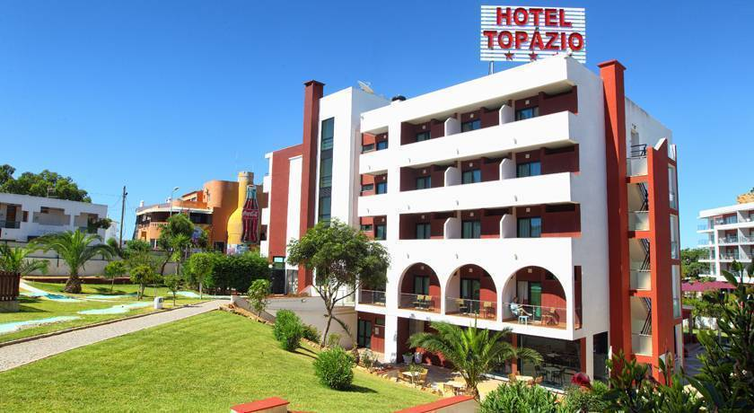 Hotel Topazio, Albufeira, Portugal, Portugal hotels and hostels