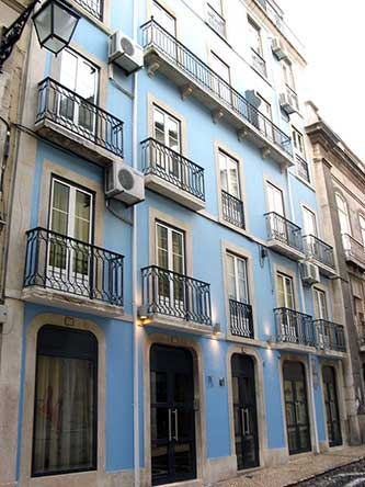 Pensao Residencial Portuense, Lisbon, Portugal, Portugal hotels and hostels