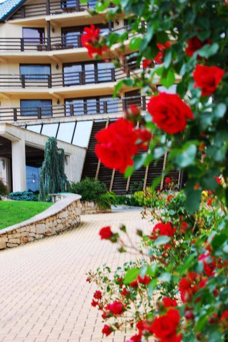 Sungarden Golf and Spa Resort, Baciu, Romania, compare with famous sites for hotel bookings in Baciu