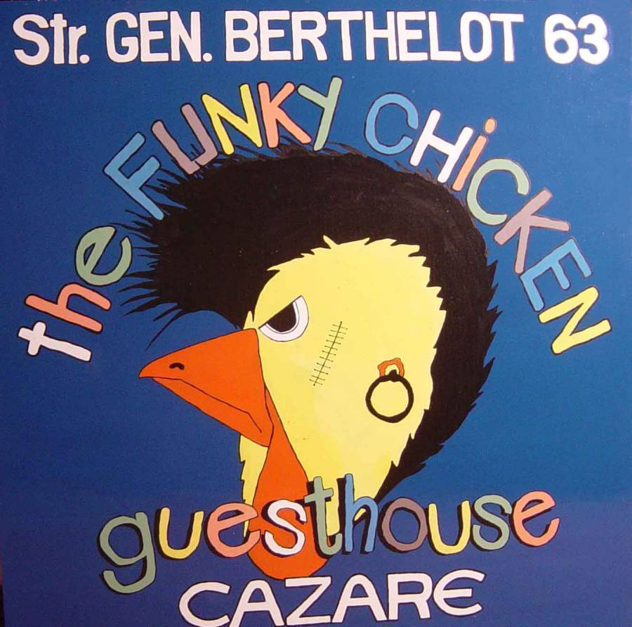 The Funky Chicken Hostel, Bucharest, Romania, Romania hotels and hostels