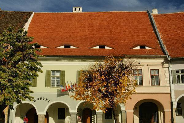 The Old Town Hostel, Sibiu, Romania, what is an eco-friendly hotel in Sibiu
