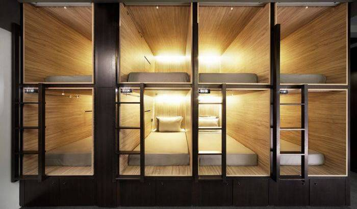 The Pod - Boutique Capsule Hotel, affordable apartments and aparthotels 16 photos