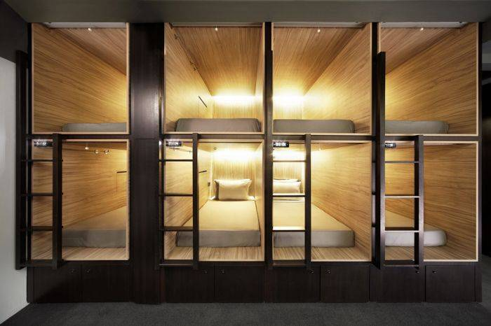 The Pod - Boutique Capsule Hotel, Kampong Bugis, Singapore, Singapore hotels and hostels
