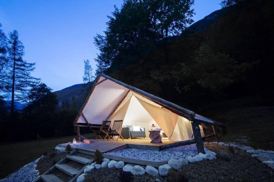 Eco Camp Canyon - Open Air Hostel Soca, Bovec, Slovenia, Slovenia hotely a ubytovny