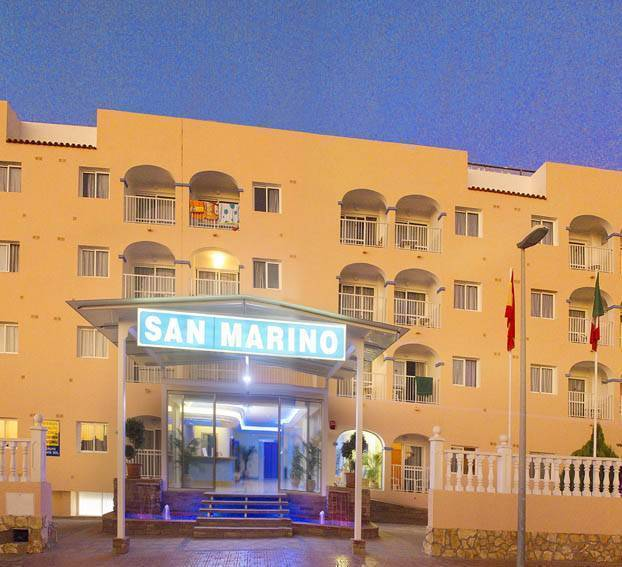 Club San Marino, Ibiza, Spain, hostels for world cup, superbowl, and sports tournaments in Ibiza