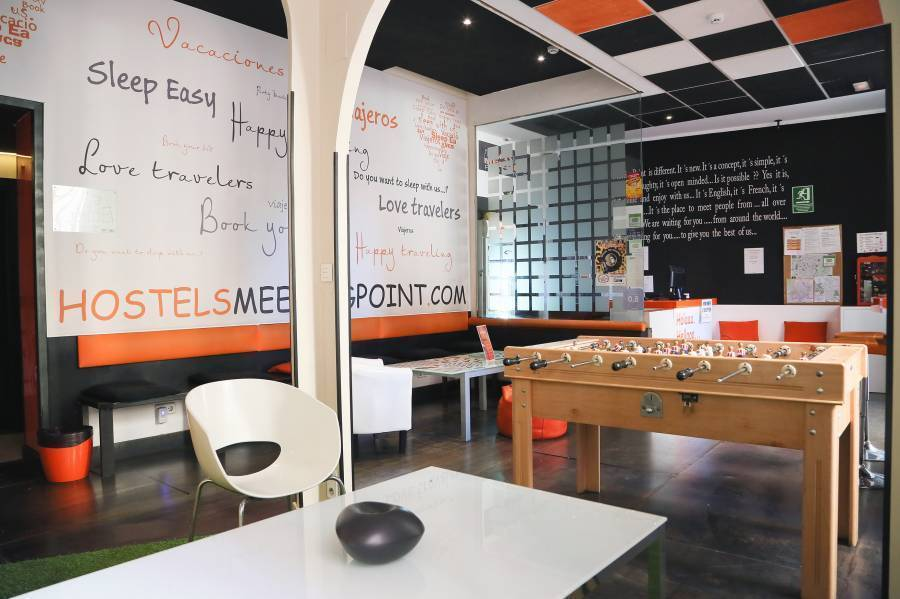 Hostels MeetingPoint, Madrid, Spain, Spain hotels and hostels