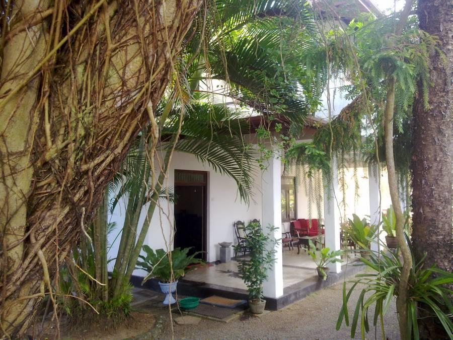 Sea Front, Hikkaduwa, Sri Lanka, hoteli v bližini postaje podzemne železnice v Hikkaduwa