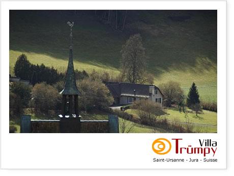 Villa Trumpy, Saint-Ursanne, Switzerland, give the gift of travel in Saint-Ursanne