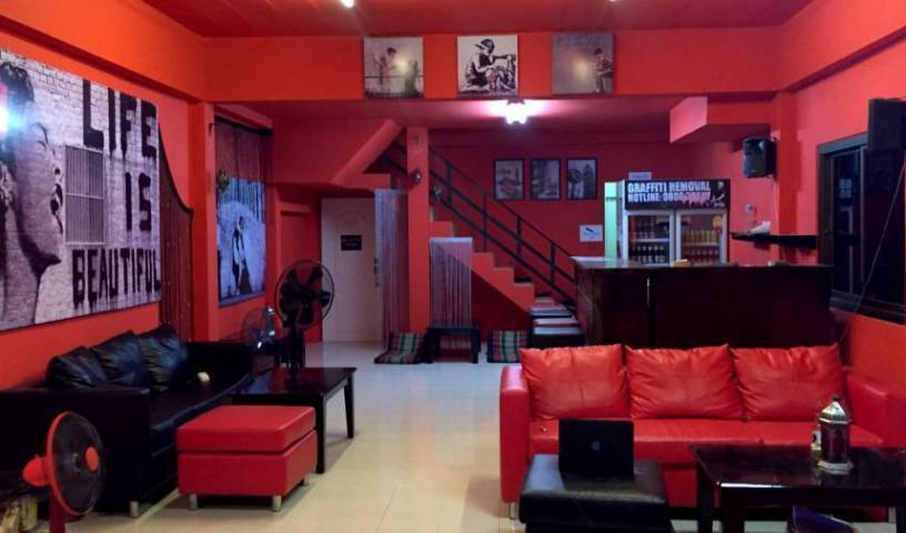 Red Boutique Hostel, cheap travel 23 photos