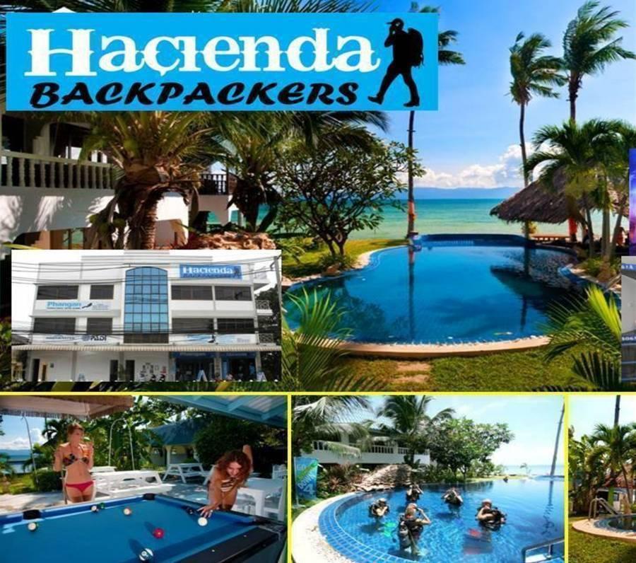 Hacienda Backpackers, Ko Phangan, Thailand, Thailand hotels and hostels