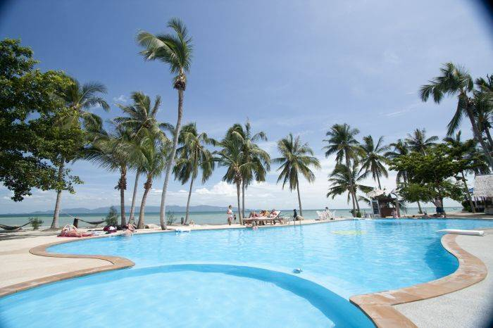Holiday Beach Resort, Ko Phangan, Thailand, Thailand hotels en hostels