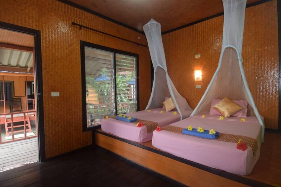Lanta Long Beach Hostel, Ko Lanta, Thailand, Hoteli u blizini plaža i aktivnosti na moru u Ko Lanta