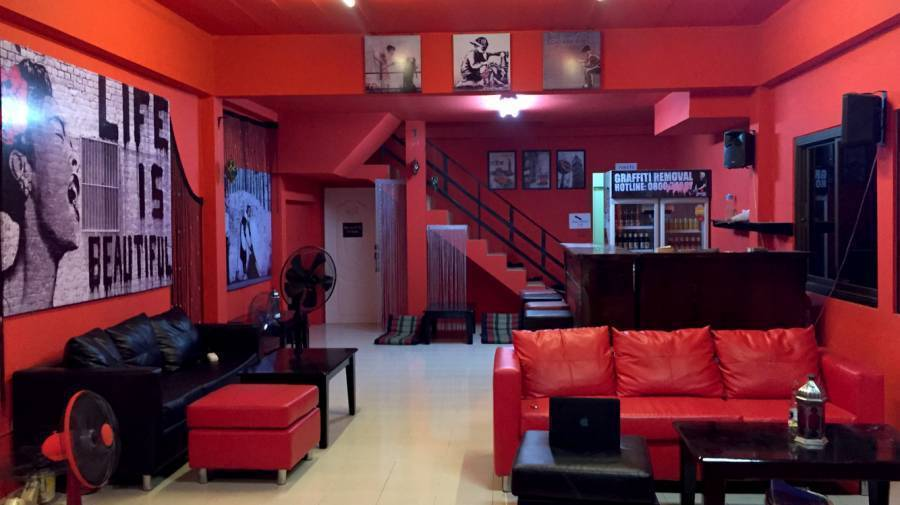 Red Boutique Hostel, Ko Phangan, Thailand, Thailand hotels and hostels