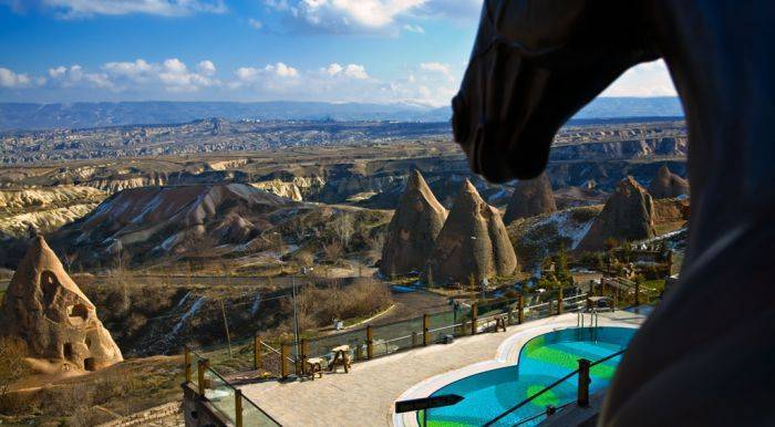 Cappadocia Cave Resort and Spa, Uchisar, Turkey, book hotels and hostels now with IWBmob in Uchisar