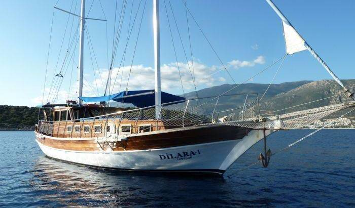 Dilara 1 Exclusive Gulet Cruise - Search for free rooms and guaranteed low rates in Kas 9 photos