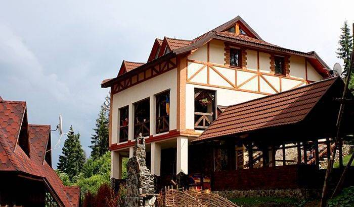 Uyta Karpatska Kazka Guesthouse - Search for free rooms and guaranteed low rates in Slavskoye, find amazing deals and authentic guest reviews 15 photos