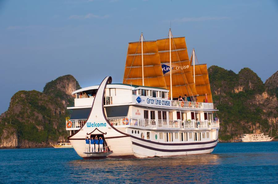 Gray Line Ha Long Cruise, Ha Long, Viet Nam, Viet Nam hotels and hostels