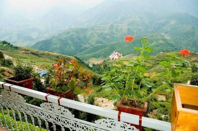 Sapa View Hotel, Sa Pa, Viet Nam, Open air bnb a hotely v Sa Pa