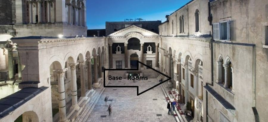 Base Rooms, Split, Croatia