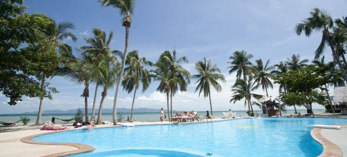 Holiday Beach Resort, Ko Phangan, Thailand