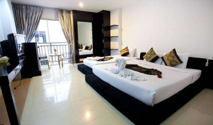 fashionable, sophisticated, stylish hotels in Patong Beach, Thailand