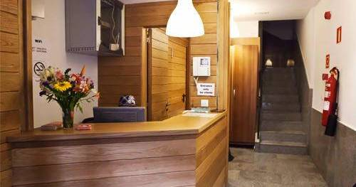 Make cheap reservations at a hotel like Pension San Fermin